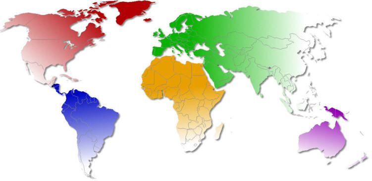 World Map Blank Template. world map for students north